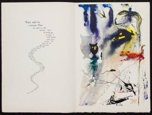 Salvador Dali (Spanish, 1904-1989) 'Alice in - 8