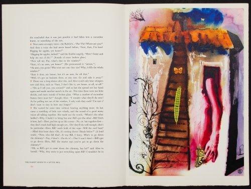 Salvador Dali (Spanish, 1904-1989) 'Alice in - 9
