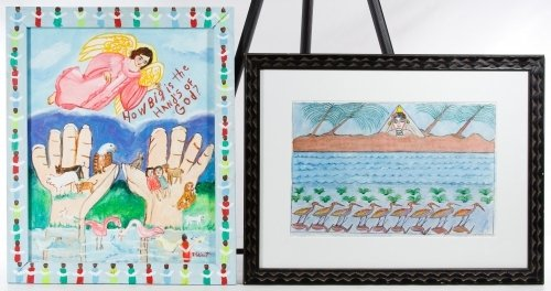 Unknown Artists (American, 20th Century) Outsider Art