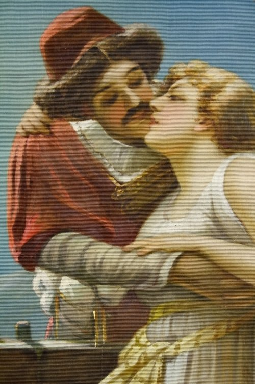 Joseph A. Maturo (Italian, 1876-1938) Painted Tapesty - 2