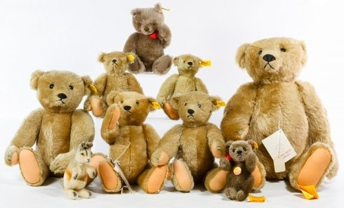 Steiff 'Strong Museum' Bear Replica Assortment