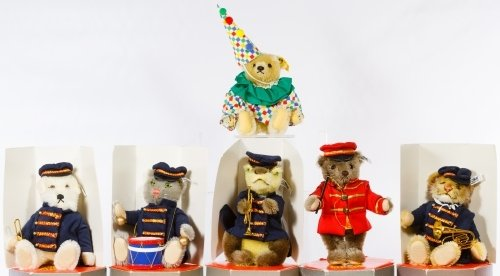 Steiff Golden Age of Circus Band Bears - 2