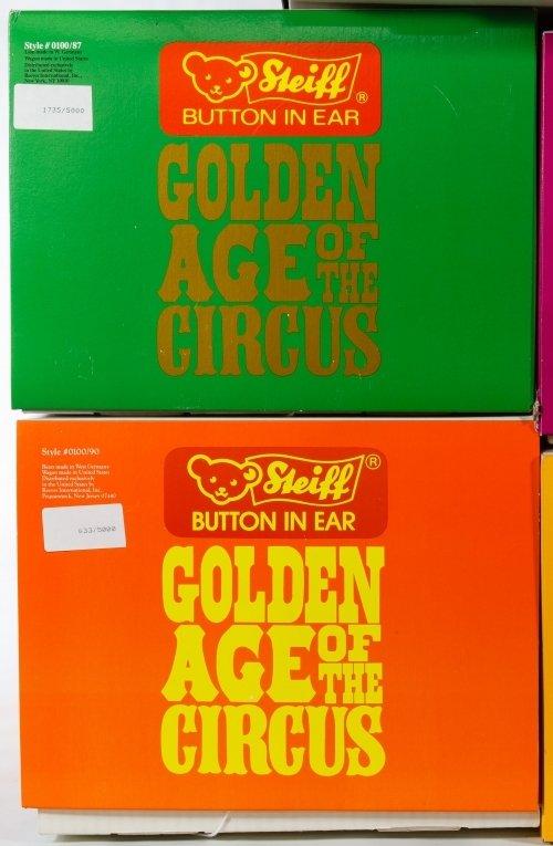 Steiff Golden Age of Circus Wagon and Animal Set - 3