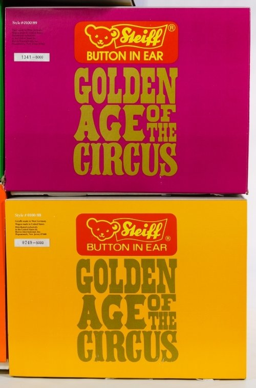 Steiff Golden Age of Circus Wagon and Animal Set - 4