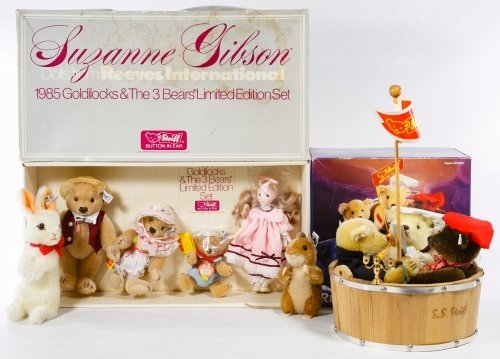 Steiff Limited Edition Bear Sets