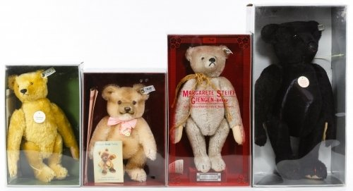 Steiff Limited Edition Boxed Replica Bears