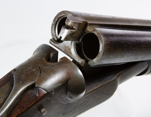 Lefever Arms Double Barrel 12ga. Shotgun (Serial - 3