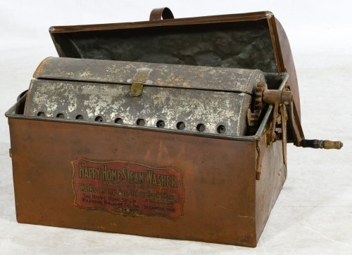 Primitive Copper Stove Top Steam Washer by Happy Home - 2