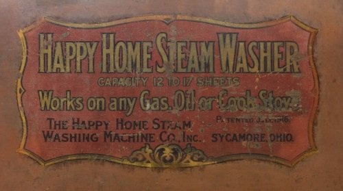Primitive Copper Stove Top Steam Washer by Happy Home - 3