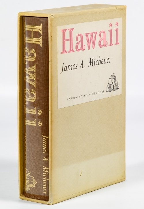 James A. Michener 'Hawaii' Signed First Edition