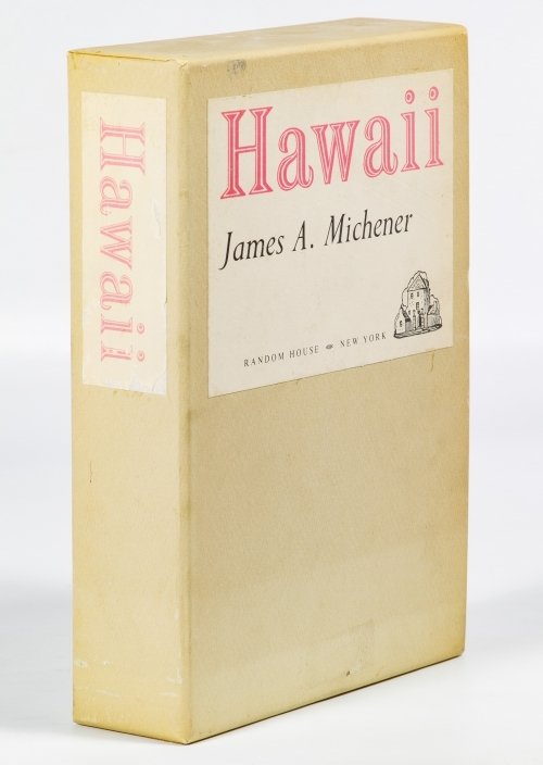 James A. Michener 'Hawaii' Signed First Edition - 2