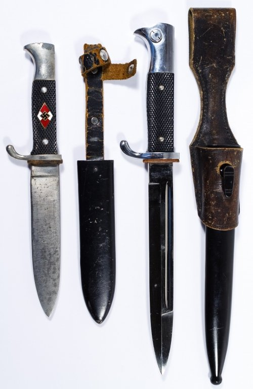 World War II German Daggers with Scabbards