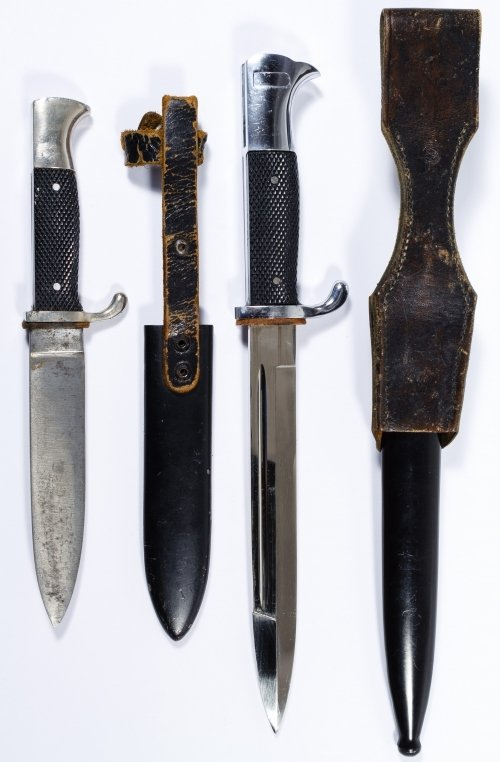 World War II German Daggers with Scabbards - 2