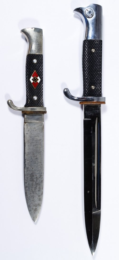 World War II German Daggers with Scabbards - 3