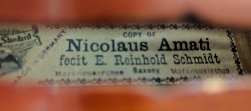 Nicolaus Amati Copy Violin - 7
