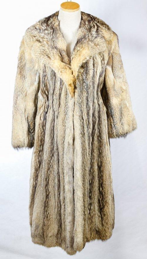 Fitch Fur Full Length Coat