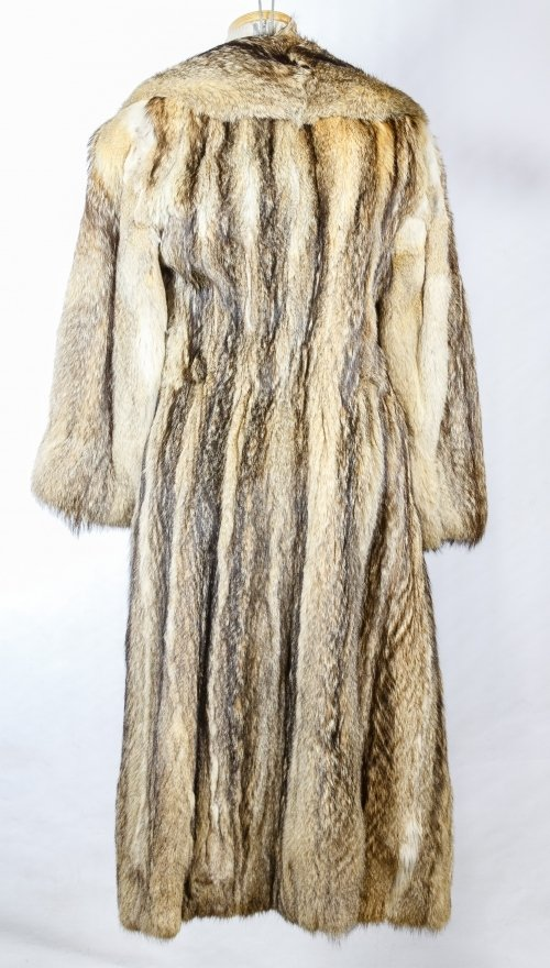 Fitch Fur Full Length Coat - 2