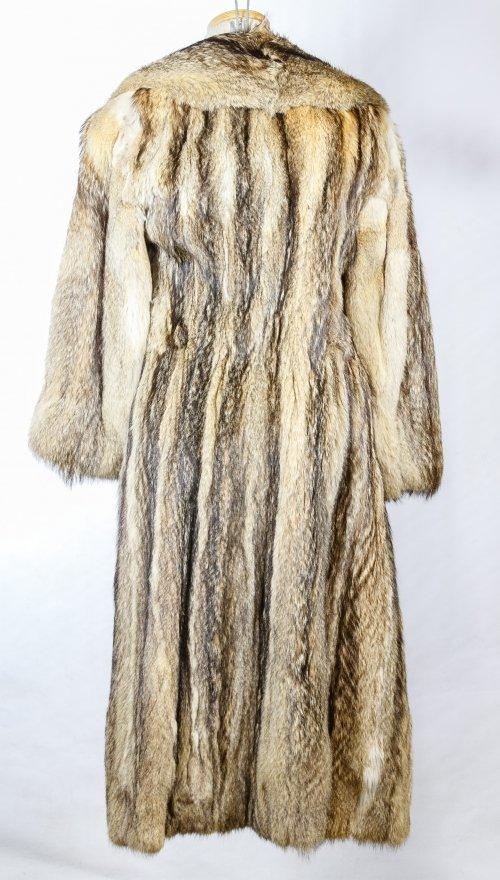 Fitch Fur Full Length Coat - 2
