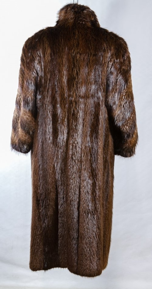 Full Length Beaver Coat - 2