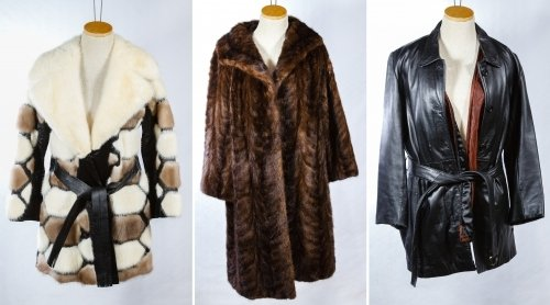 Fur and Leather Coat Assortment
