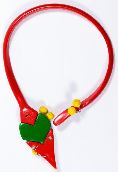 Ugo Correani Mid-Century Modern Asymmetrical Choker - 2