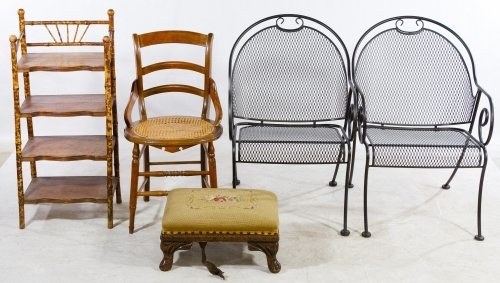 Chair, Stand and Stool Assortment