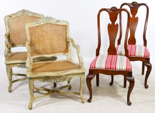 Colonial Style Chair Assortment