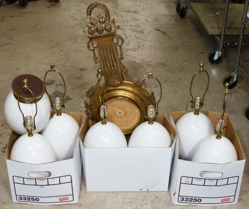 White Ceramic Table Lamp Assortment