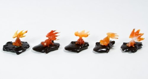 Asian Carved Agate Betta Fish Assortment