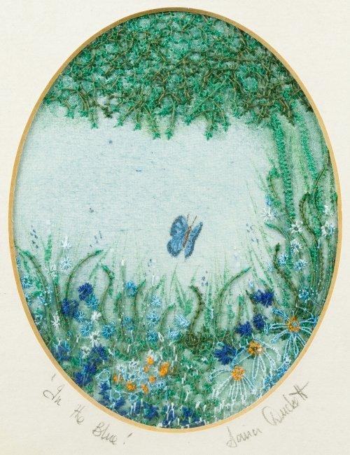 Bradex Christmas Plates and Embroidered Artwork - 6