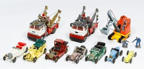 Matchbox and Corgi Toy Vehicle Assortment