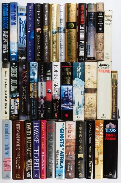 First Edition Hard Cover Fiction Book Assortment