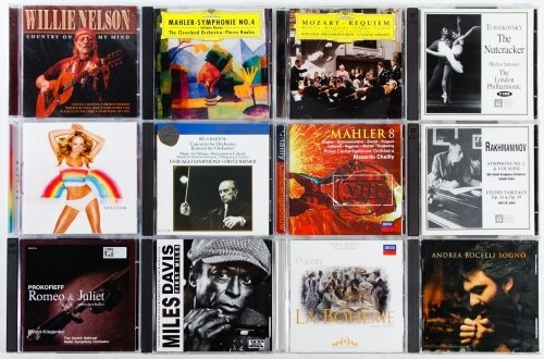 Classical Compact Disc CD Assortment - 2