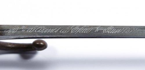 US Civil War Era French Bayonet - 8