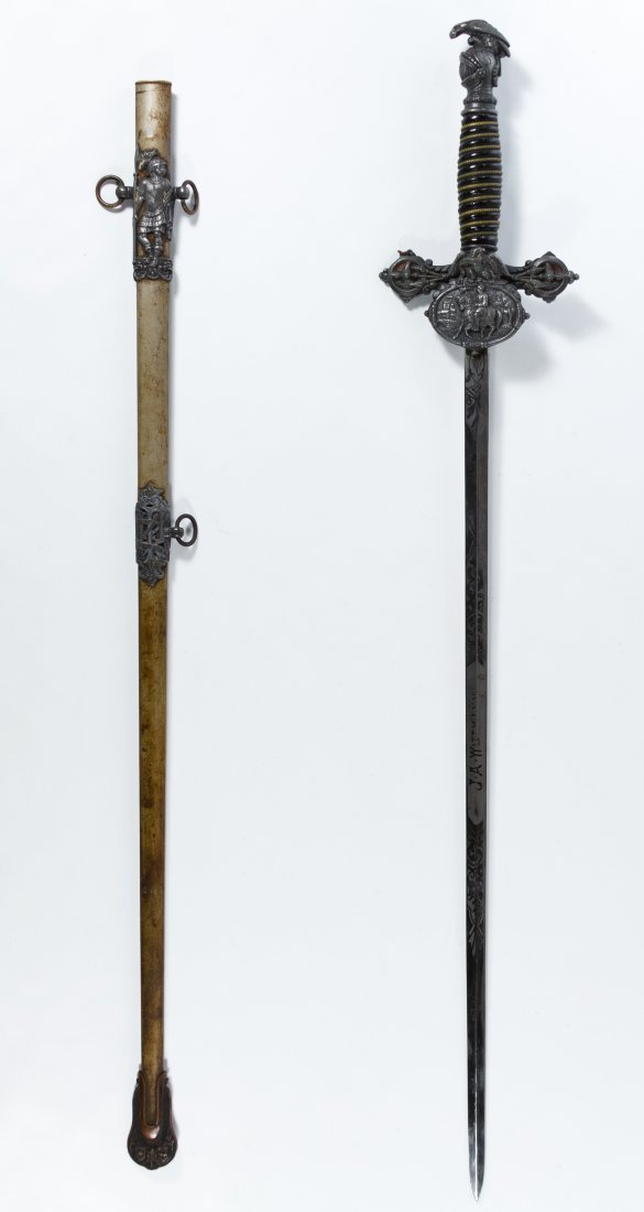 Knights of Pythias Presentation Sword