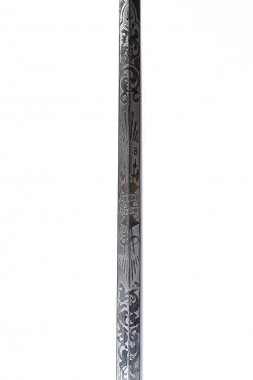 Knights of Pythias Presentation Sword - 4