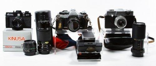 Camera and Lens Assortment