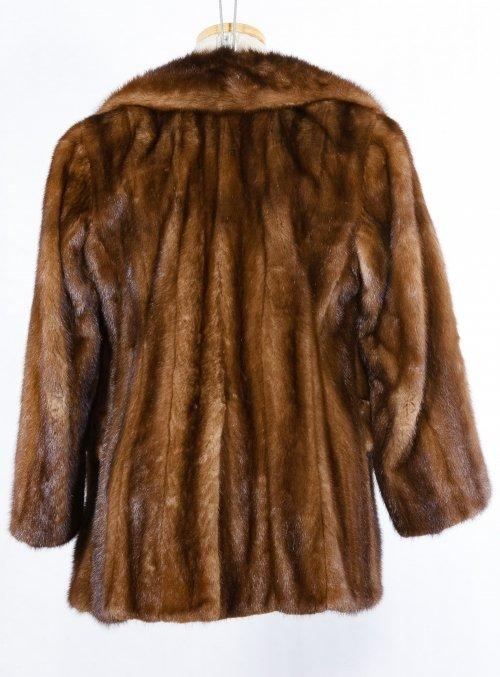 Mink Fur Car Coat - 2