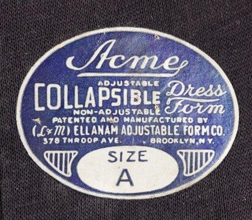 Women's 'Acme' Dress Forum by Ellanam Adjustable Form - 2