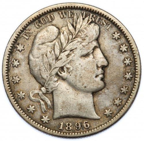 1896-S 50c F