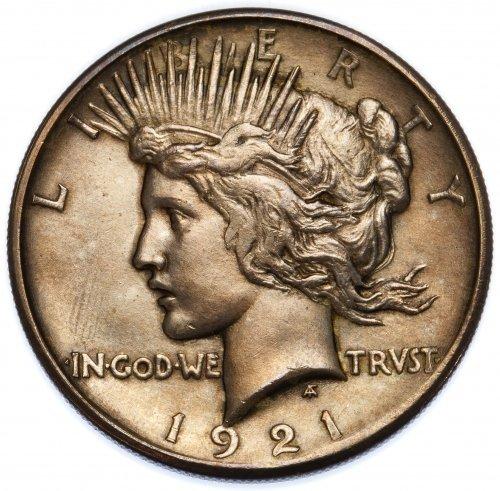 1921 $1 Peace AU+