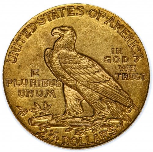 1910 $2 1/2 Gold XF - 2