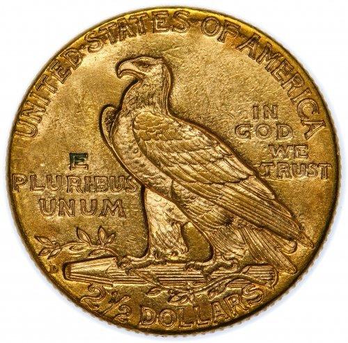 1925-D $2 1/2 Gold Unc. Details - 2