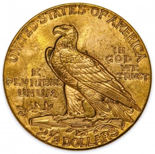 1929 $2 1/2 Gold AU - 2