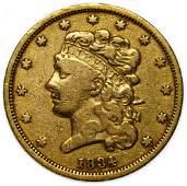 1834 $5 Gold VF Details