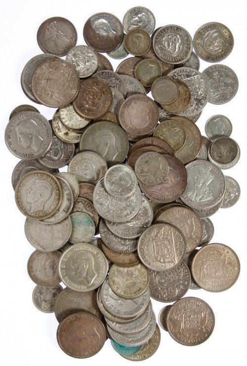 Australia: Silver Coin Assortment
