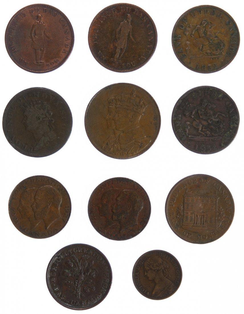Canada: Copper Coin Assortment