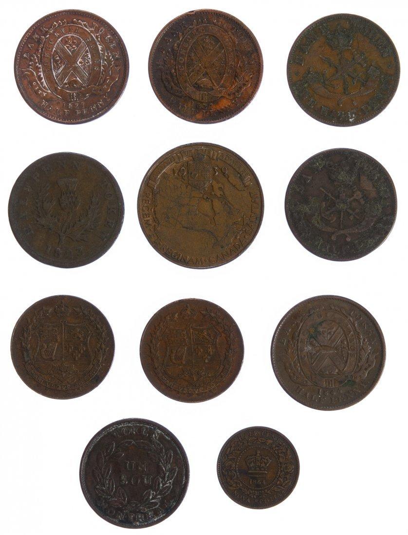 Canada: Copper Coin Assortment - 2