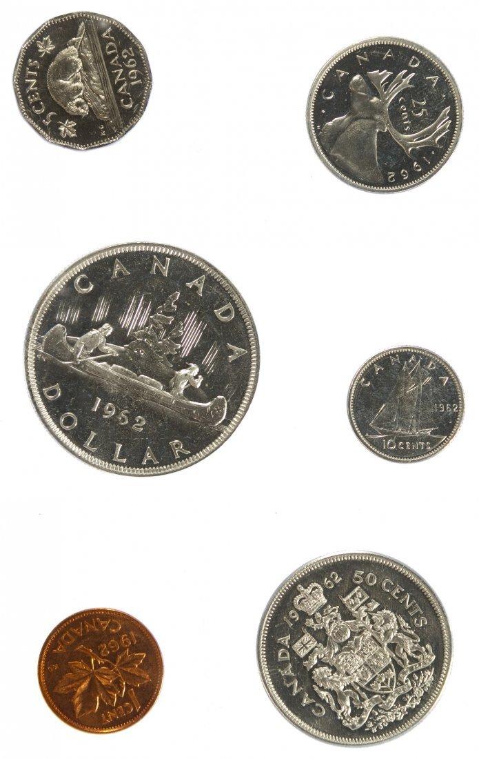 Canada: 1962 Proof Set Assortment - 3