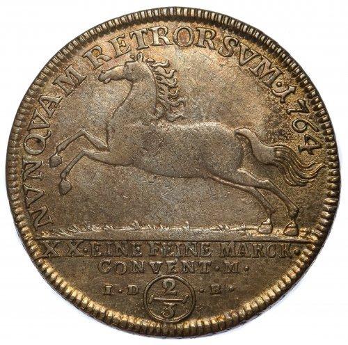 Germany: 1764 2/3 Silver Thaler - 2
